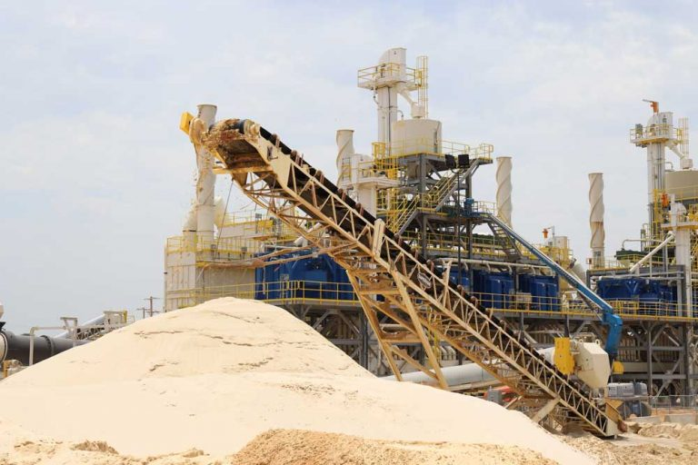 PFS Building and Industrial Sand